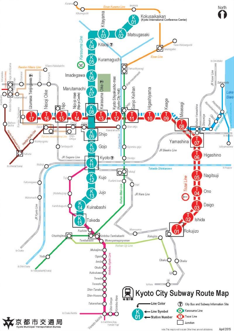 kyoto subway map