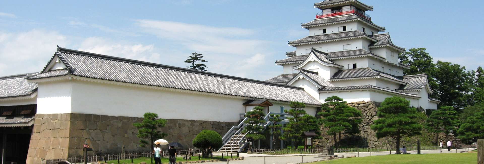 Tsuruga Castle in Aizuwakamatsu