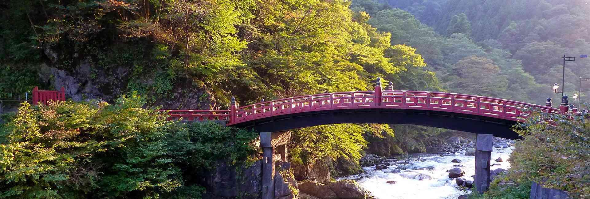 Shinkyo bridge at Nikko