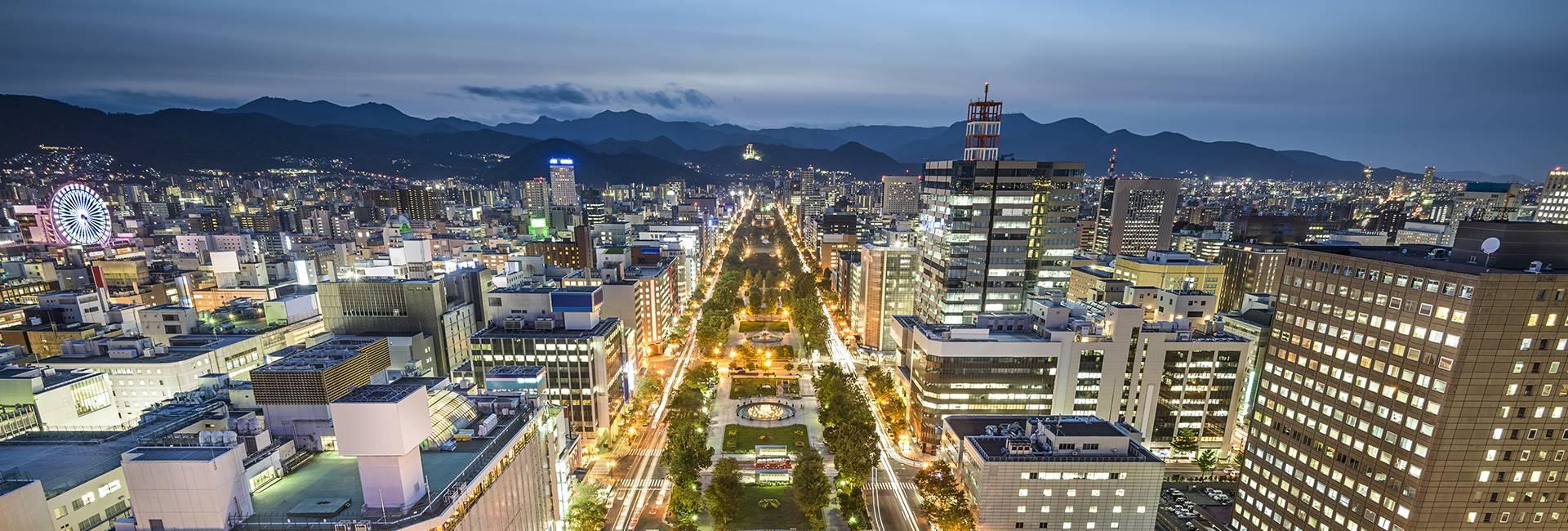 Odori Park in Sapporo