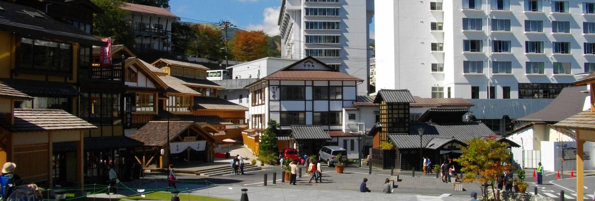 Kusatsu Onsen in Japan