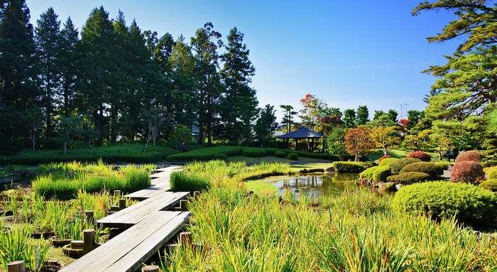jardin mémorial fujita hirosaki