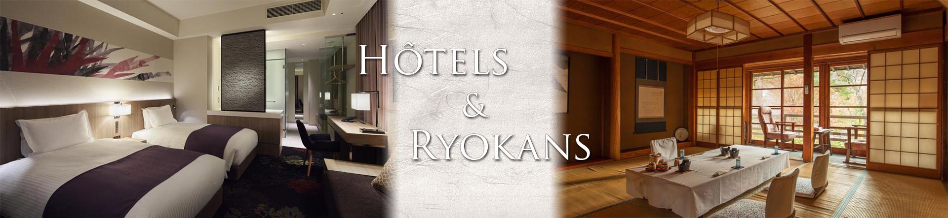 hôtels et ryokans
