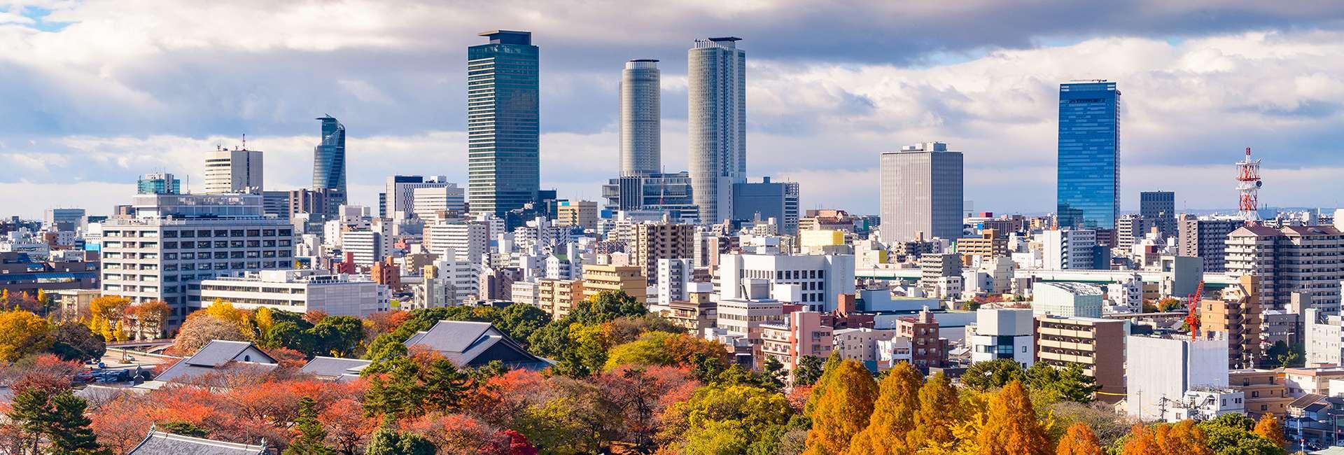 vue de Nagoya au Japon