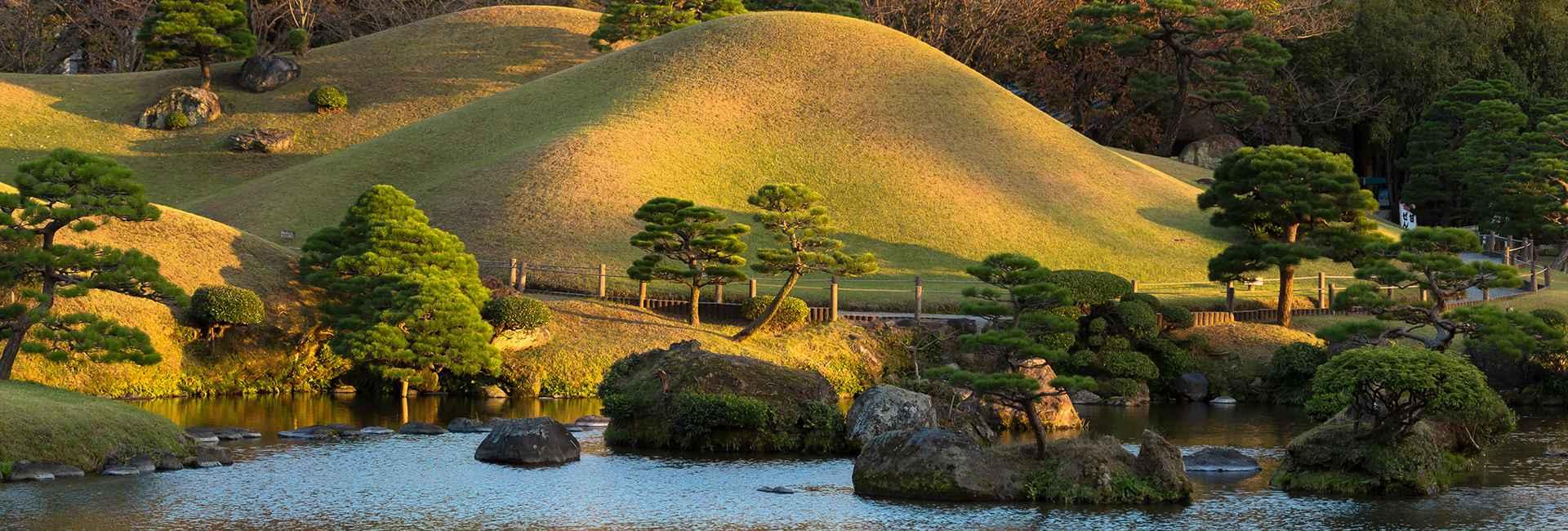 jardin suizen à Kumamoto