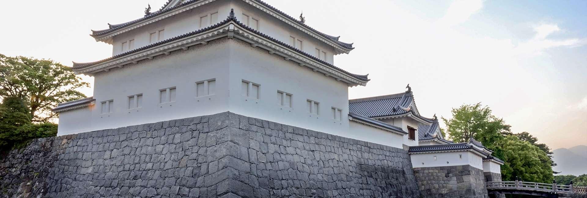 château de Sumpu à Shizuoka