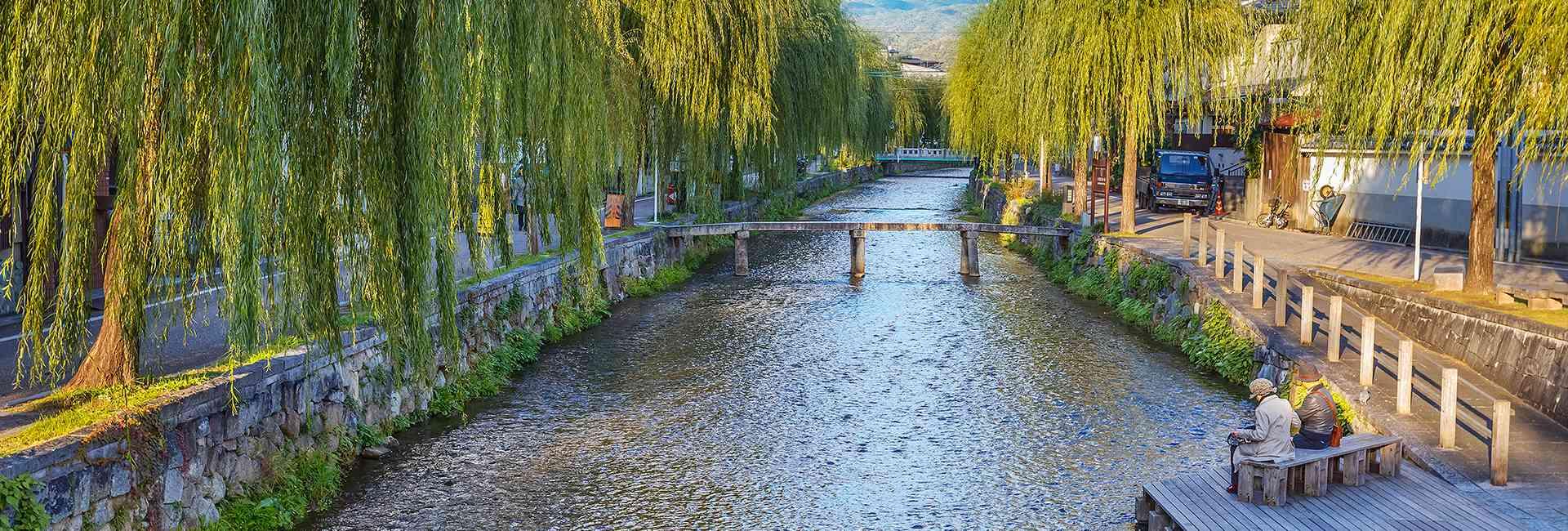 rivière à Kyoto