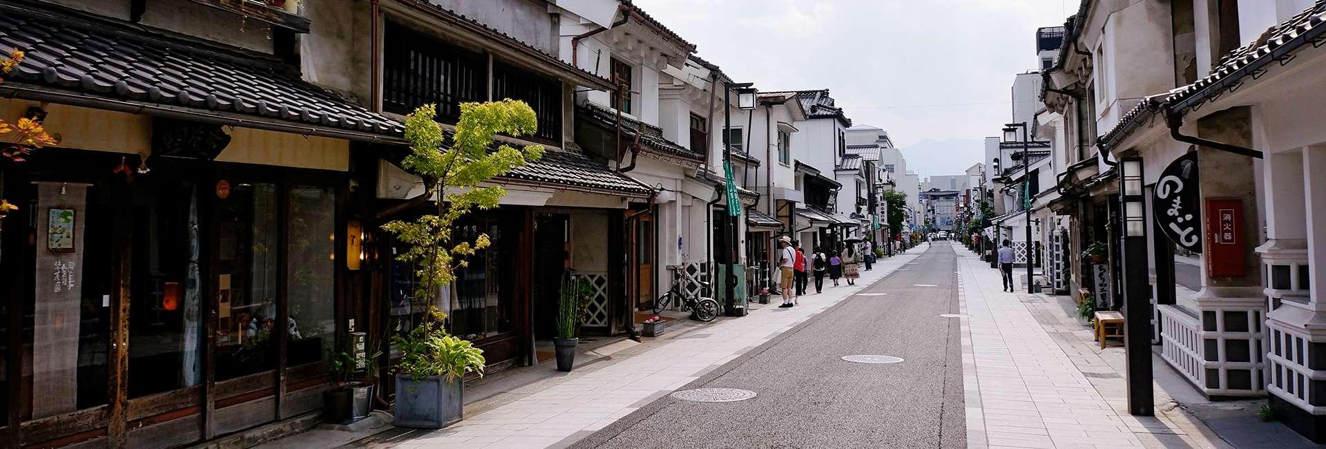 une rue de Matsumoto