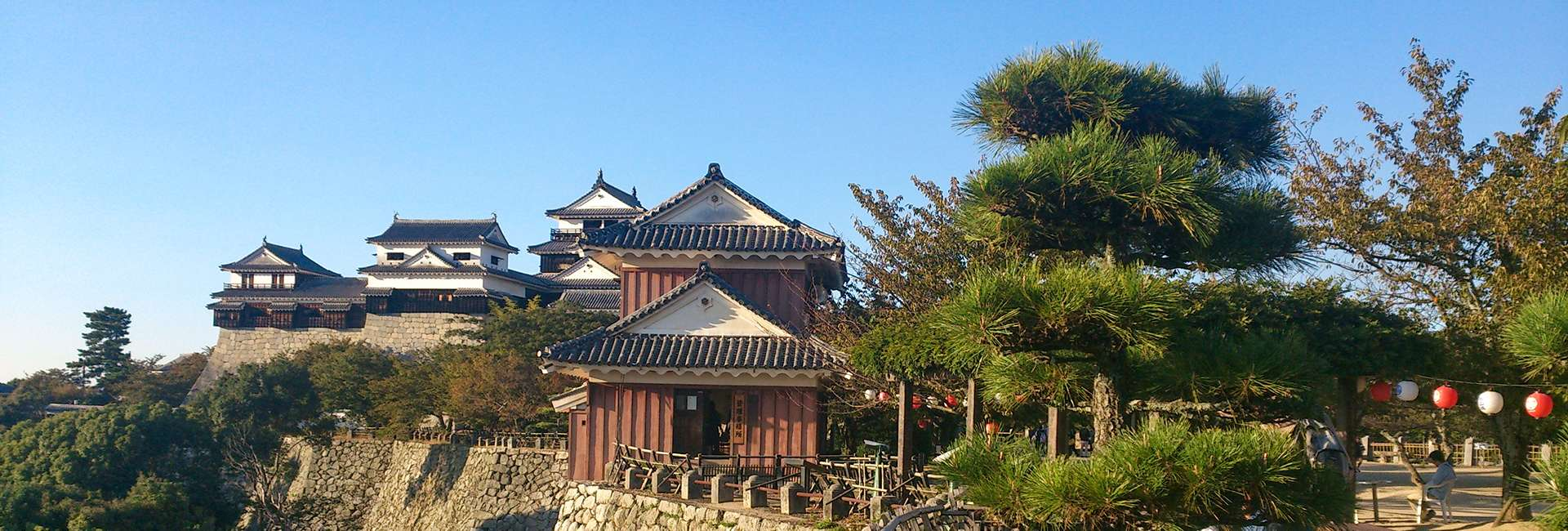 château de Matsuyama au Japon