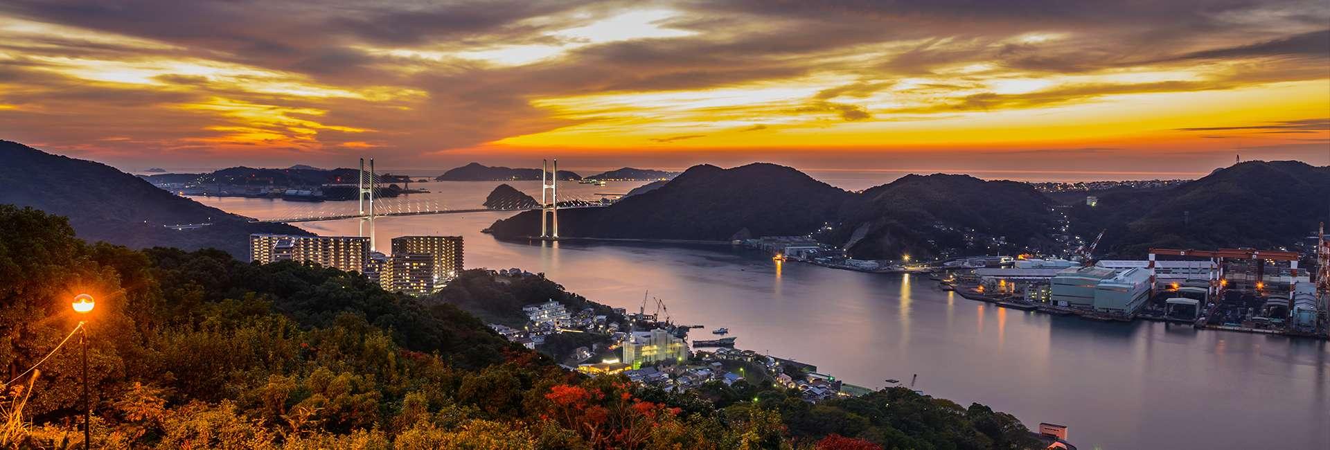 entrée du port de Nagasaki