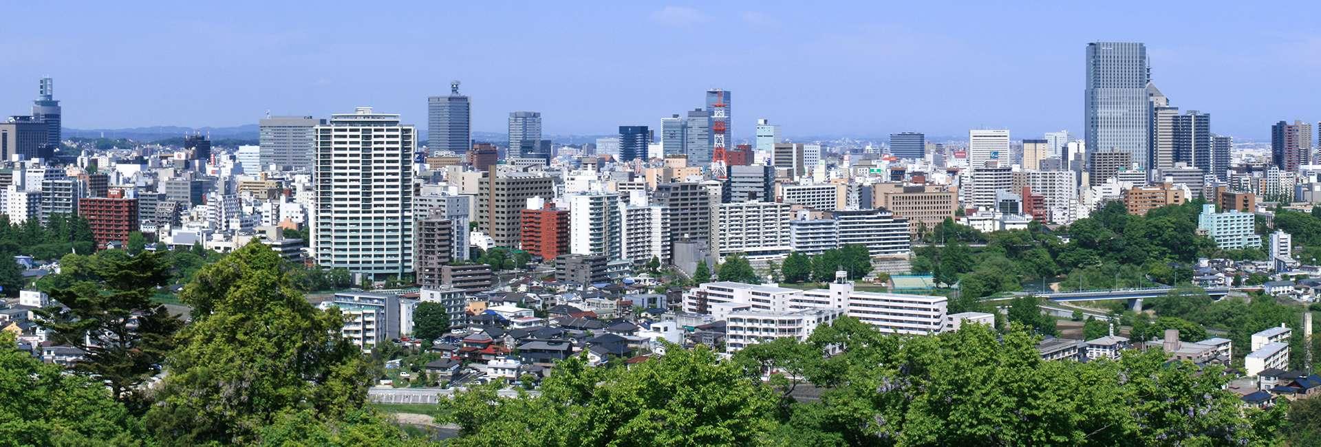 vue de Sendai