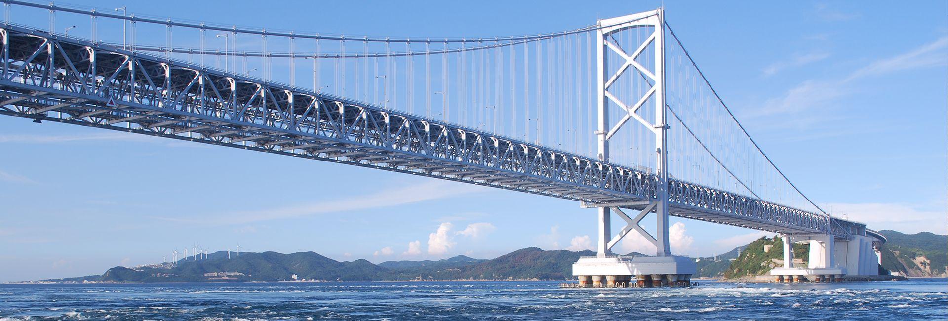 pont de Naruto à Tokushima