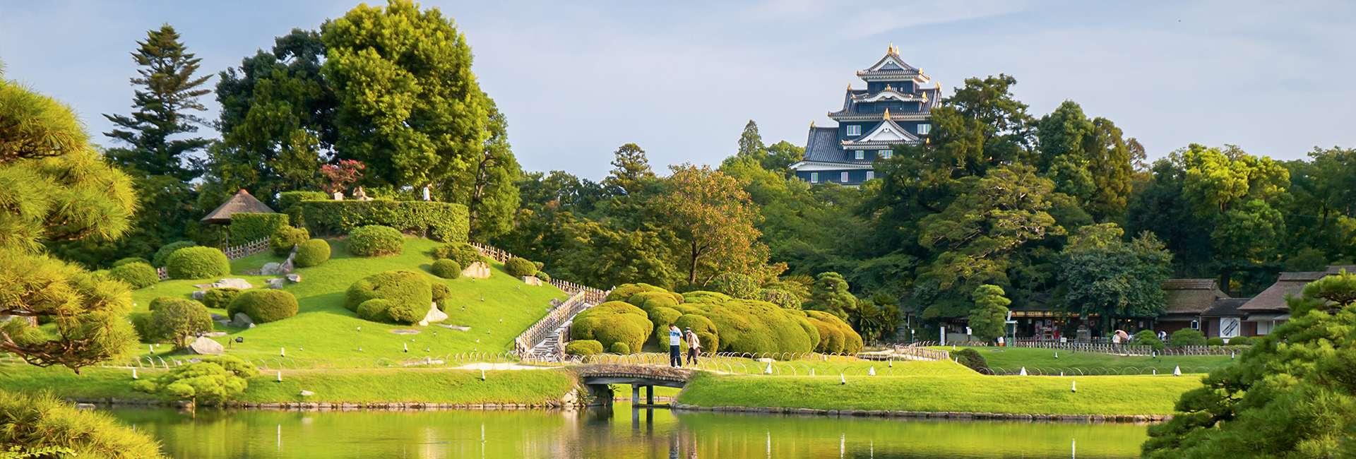 jardin kenrokuen et château de Okayama