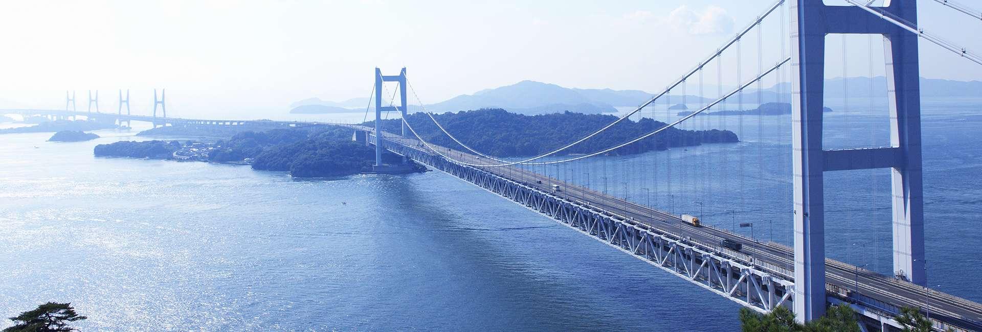 pont au-dessus de la mer de Seto