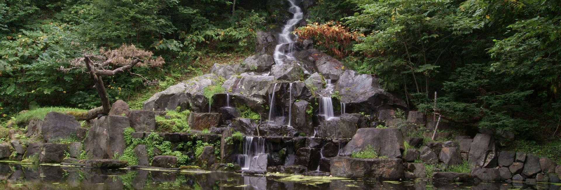 cascade Hagoromo à Asahikawa