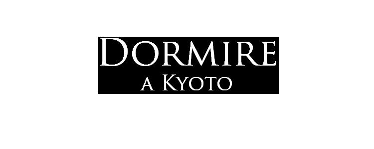 dormire a kyoto