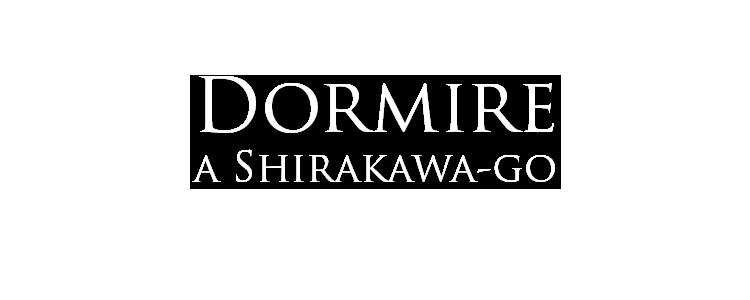 dormire a shirakawa-go