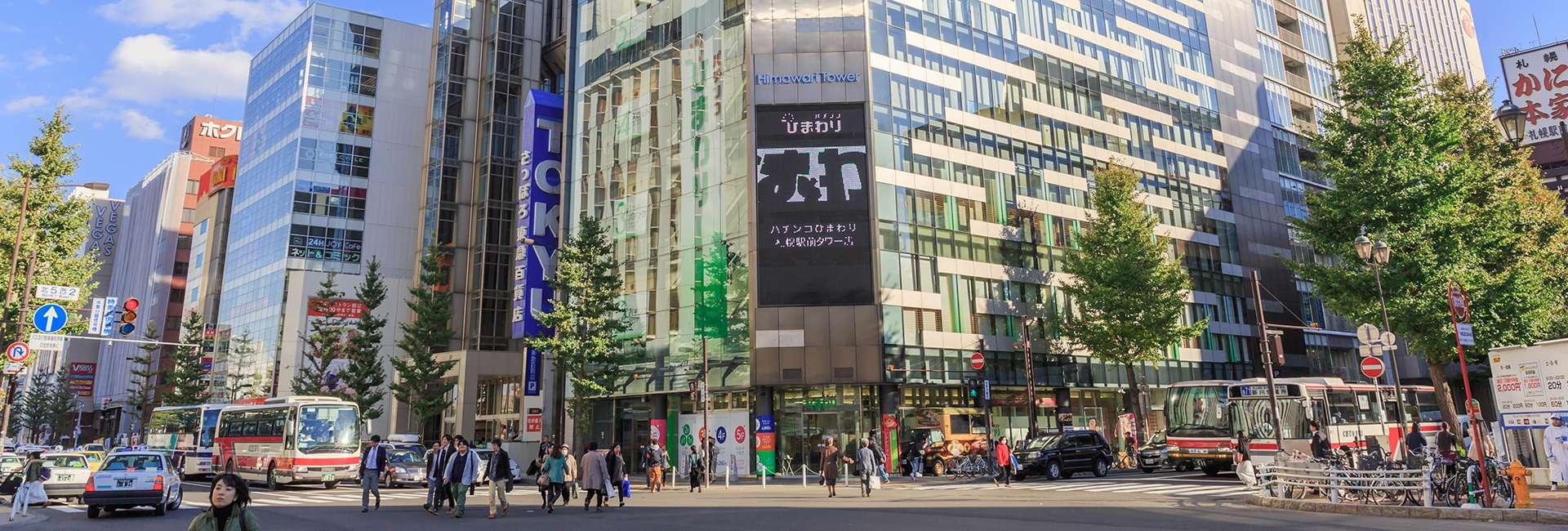 Sapporo in Giappone